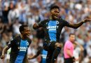 Percy Tau assists Club Brugge in the draw against Real Madrid, in Spain